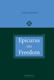 Epicurus on Freedom