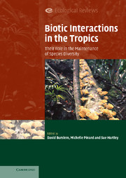 Biotic Interactions in the Tropics