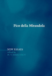 Pico della mirandola new essays | Renaissance philosophy | Cambridge ...