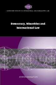 Democracy, Minorities and International Law