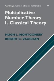 Multiplicative Number Theory I