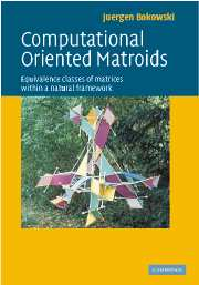 Computational Oriented Matroids