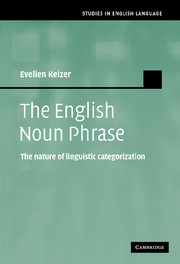 The English Noun Phrase