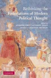 Rethinking <I>The Foundations of Modern Political Thought</I>