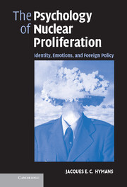 The Psychology of Nuclear Proliferation