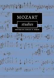 Mozart Studies