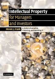 Intellectual Property for Managers and Investors