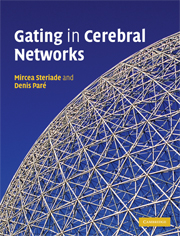 Gating in Cerebral Networks