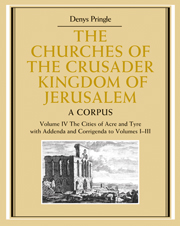 The Churches of the Crusader Kingdom of Jerusalem