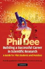 Building a Successful Career in Scientific Research