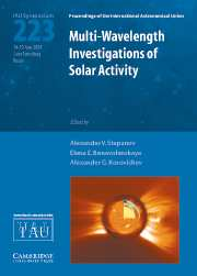 Multi-Wavelength Investigations of Solar Activity (IAU S223)