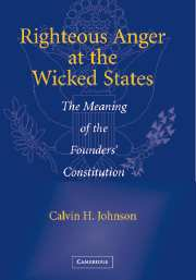 Righteous Anger at the Wicked States