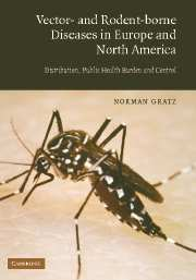 Vector- and Rodent-Borne Diseases in Europe and North America