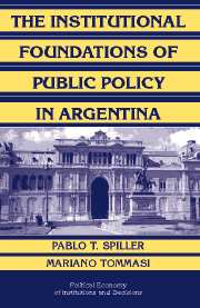 The Institutional Foundations of Public Policy in Argentina