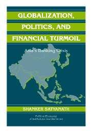 Globalization, Politics, and Financial Turmoil