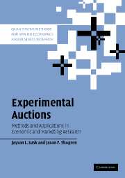 Experimental Auctions