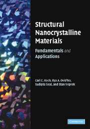 Structural Nanocrystalline Materials