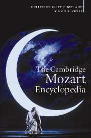The Cambridge Mozart Encyclopedia