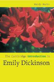 The Cambridge Introduction to Emily Dickinson