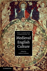 The Cambridge Companion to Medieval English Culture