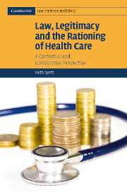 Law, Legitimacy and the Rationing of Health Care