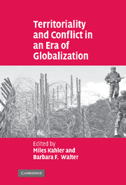 Territoriality and Conflict in an Era of Globalization