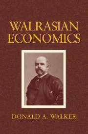 Walrasian Economics