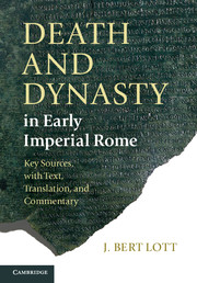 Death and Dynasty in Early Imperial Rome