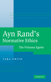 Ayn Rand's Normative Ethics