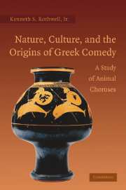 Nature, Culture, and the Origins of Greek Comedy