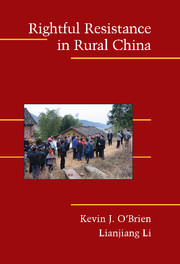 Rightful Resistance in Rural China