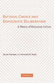 Rational Choice and Democratic Deliberation