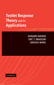 Testlet Response Theory and Its Applications