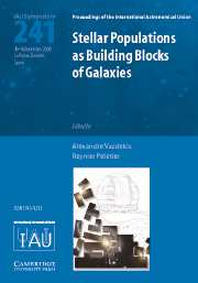 Stellar Populations as Building Blocks of Galaxies (IAU S241)