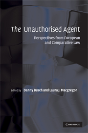 The Unauthorised Agent
