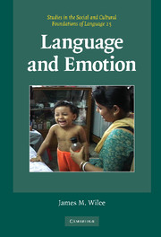 Language and Emotion