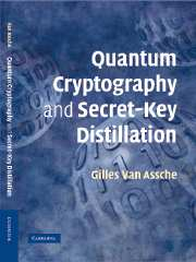 Quantum Cryptography and Secret-Key Distillation