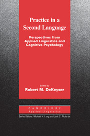 Practice in a Second Language