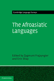 The Afroasiatic Languages