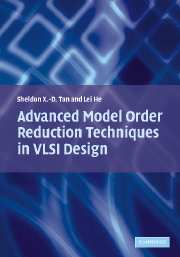 Advanced Model Order Reduction Techniques in VLSI Design