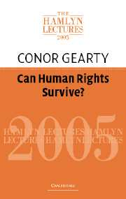 Can Human Rights Survive?