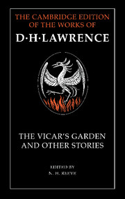 'The Vicar's Garden' and Other Stories