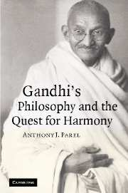 Gandhi's Philosophy and the Quest for Harmony