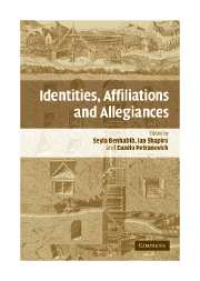 Identities, Affiliations, and Allegiances