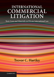 International Commercial Litigation
