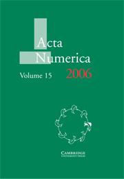 Acta Numerica 2006