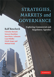 Strategies, Markets and Governance