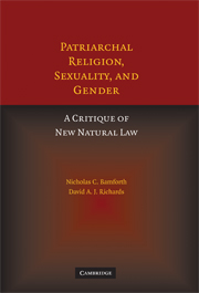 Patriarchal Religion, Sexuality, and Gender