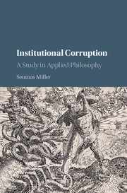 Institutional Corruption
