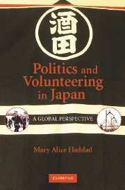 Politics and Volunteering in Japan